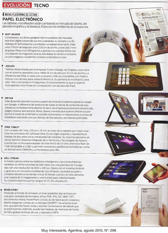 Los nuevos dispositivos de lectura | Blog Editorial UCh