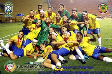 BRASIL SUB 17 FEMENINA