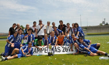 RCD ESPANYOL FEMENINO-CAMPEONAS DE LA COPA DE LA REINA 2010