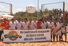 SELEÇÃO DO RN 3º COLOCADA NO BRASILEIRO DE BEACH SOCCER 2008