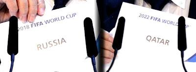 Rússia e Qatar sedes da copa