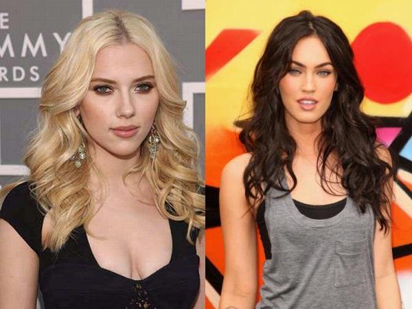 Scarlett Johansson e Megan Fox
