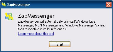 Desinstalar Windows Live Messenger 2009