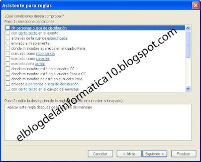 Ordenar correo automáticamente en carpetas en Microsoft Office Outlook