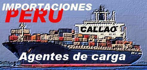 AGENTES DE CARGA: CALLAO