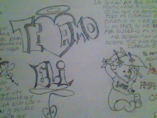 GRAFFITIS K DIGAN TE AMO | TODO PARA FACEBOOK IMAGENES PARA ...