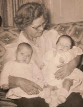 Biggie Gram, BikerChicKnits & Her Twin