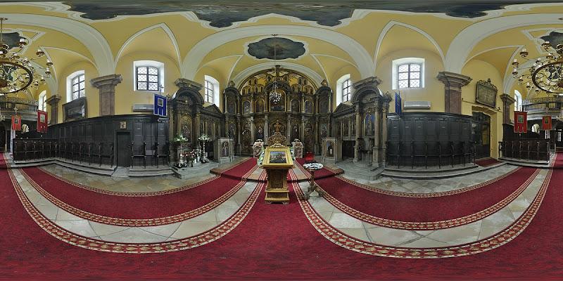 Pesti szerb templom gömbpanoráma