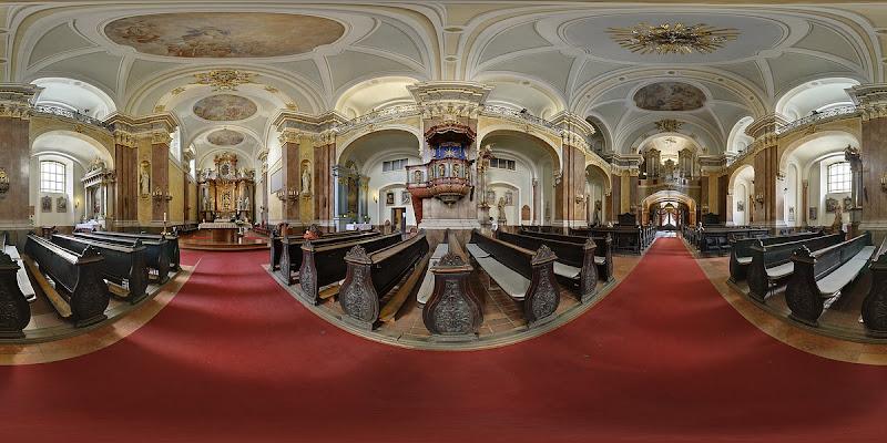 Budapest, Pesti Ferences templom gömbpanoráma