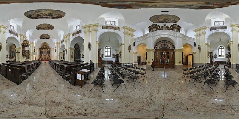 Debrecen Szent Anna Székesegyház gömbpanoráma