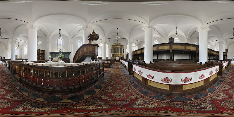 Debreceni Református Kistemplom gömbpanoráma