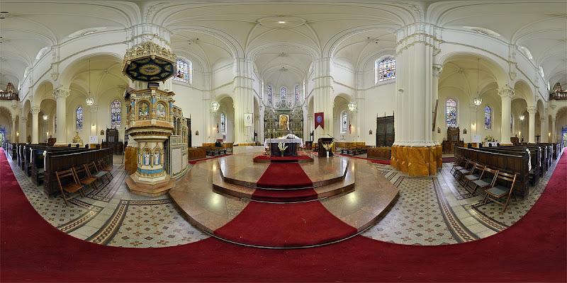 Kőbánya Szt. László templom gömbpanoráma