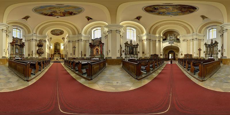 Esztergom,Szent Péter és Pál templom gömbpanoráma