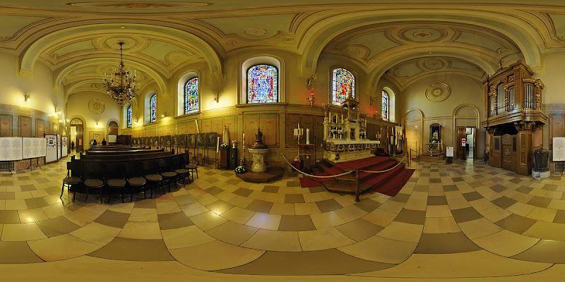 Szt. Jobb kápolna- gömbpanoráma