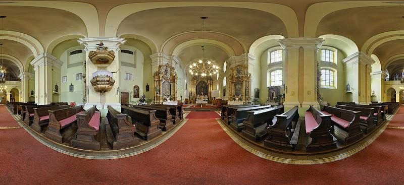 Esztergom Szent Anna ferences templom gömbpanoráma