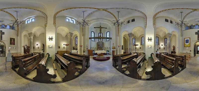 Jáki kápolna gömbpanoráma