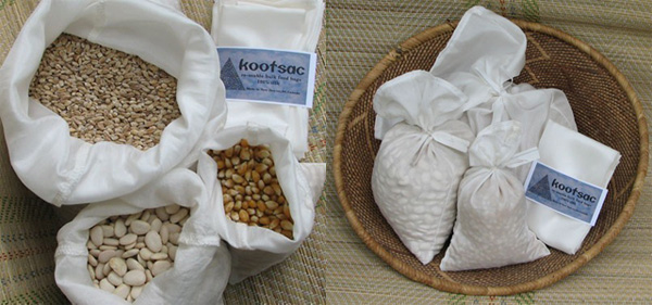 Kootsac - Natural Silk Food Bags