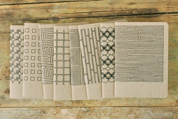 PAWLING | print studio - Geometric Notebooks