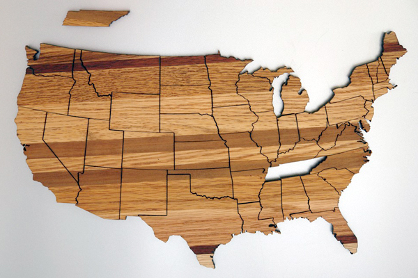PipeDreams2010 - United States Magnetic Geography Puzzle