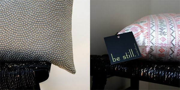 Be Still - Cushion Covers