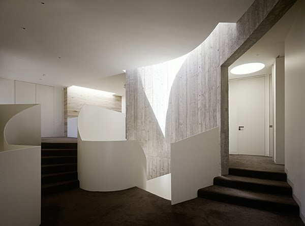 Leeton Architects - Yarra House, Melbourne, photo by Peter Bennetts
