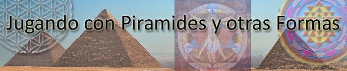 Jugando con Pirámides y otras Formas