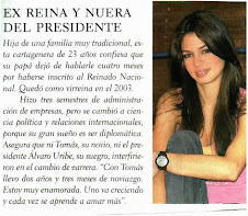 LA  EX REINA PRESENTADORA Y MODELO VISITO LA ACADEMIA MIXTA DE CWS  Julio 26 de 2008