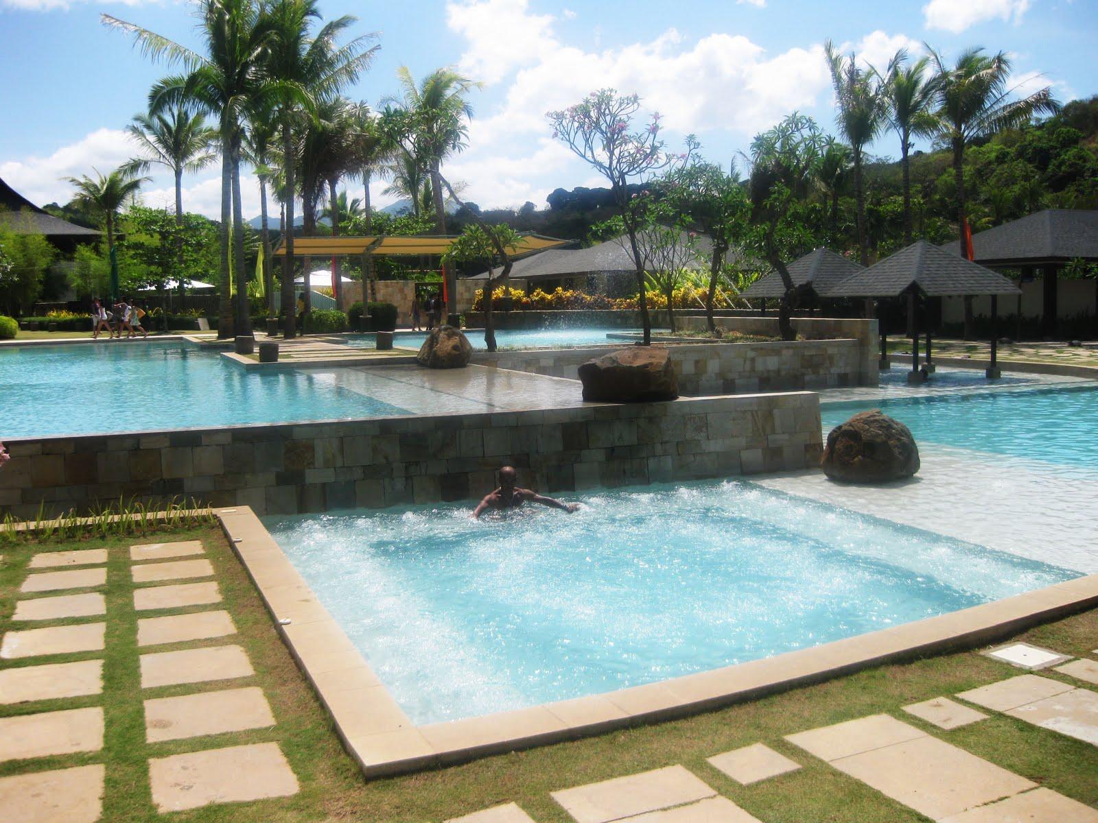 Adventurous feet bataan anvaya cove at morong for Beach resort in bataan with swimming pool
