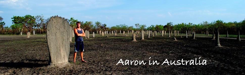 Aaron in Australia