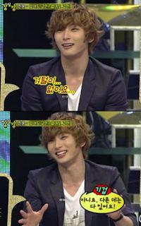Anggota 2Am Jinwoon gak punya bulu ketek?