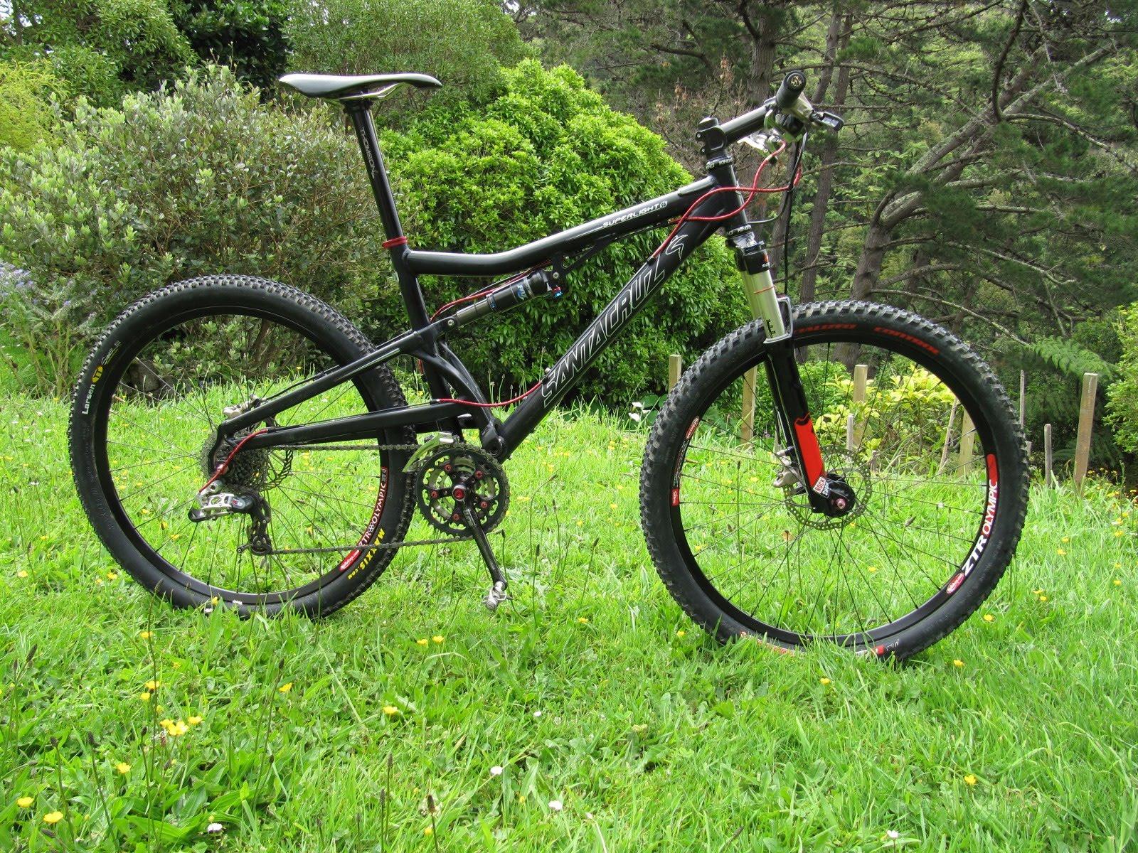 Jeff\'s Bike Blog: A new handle for the axe. Santa Cruz Superlight