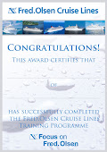 CRUISE EXPERT for Fred Olsen