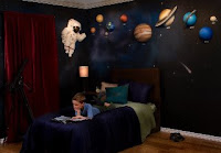 space 3d mural