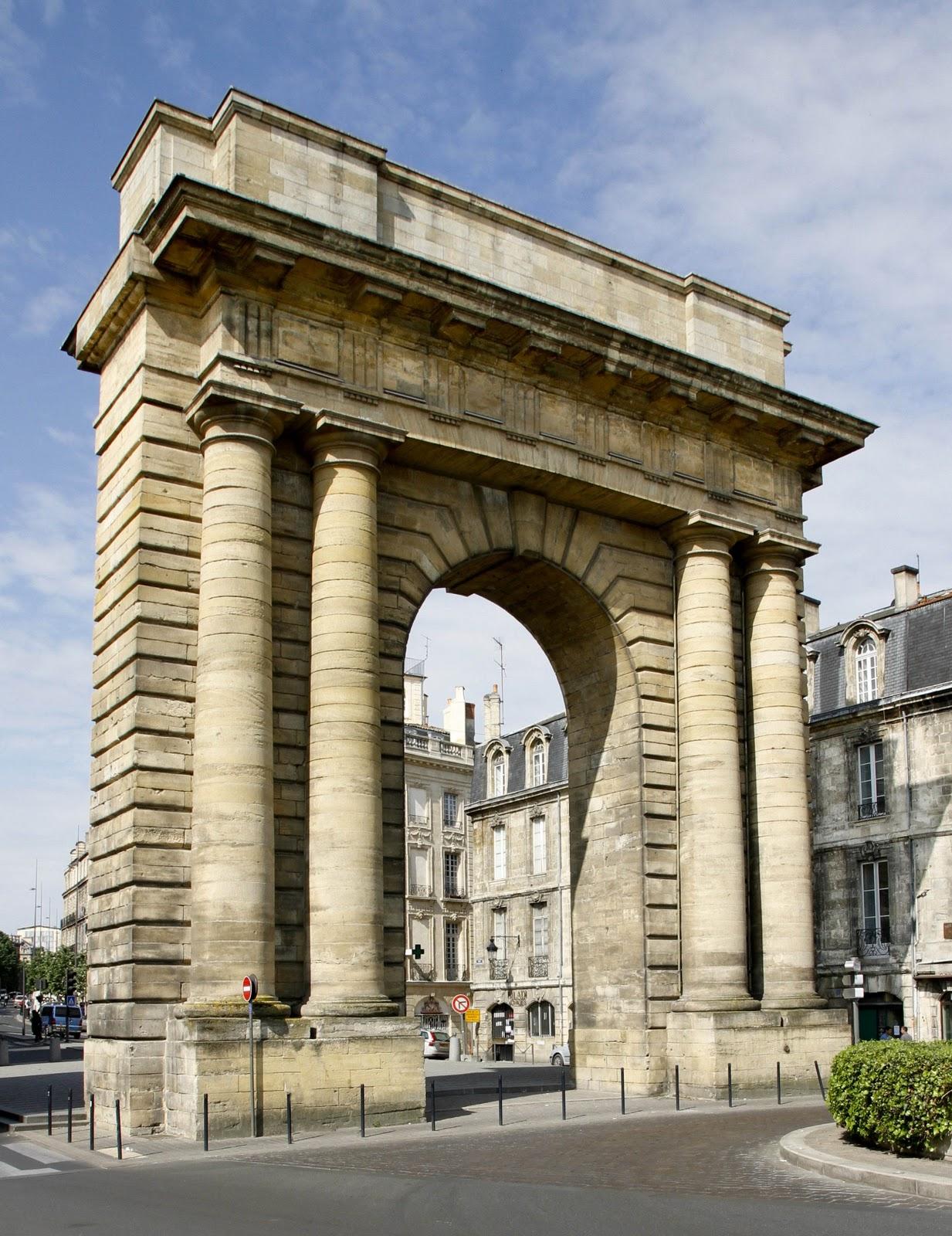 Bordeaux et ses environs promenade depuis la porte de for La porte and associates