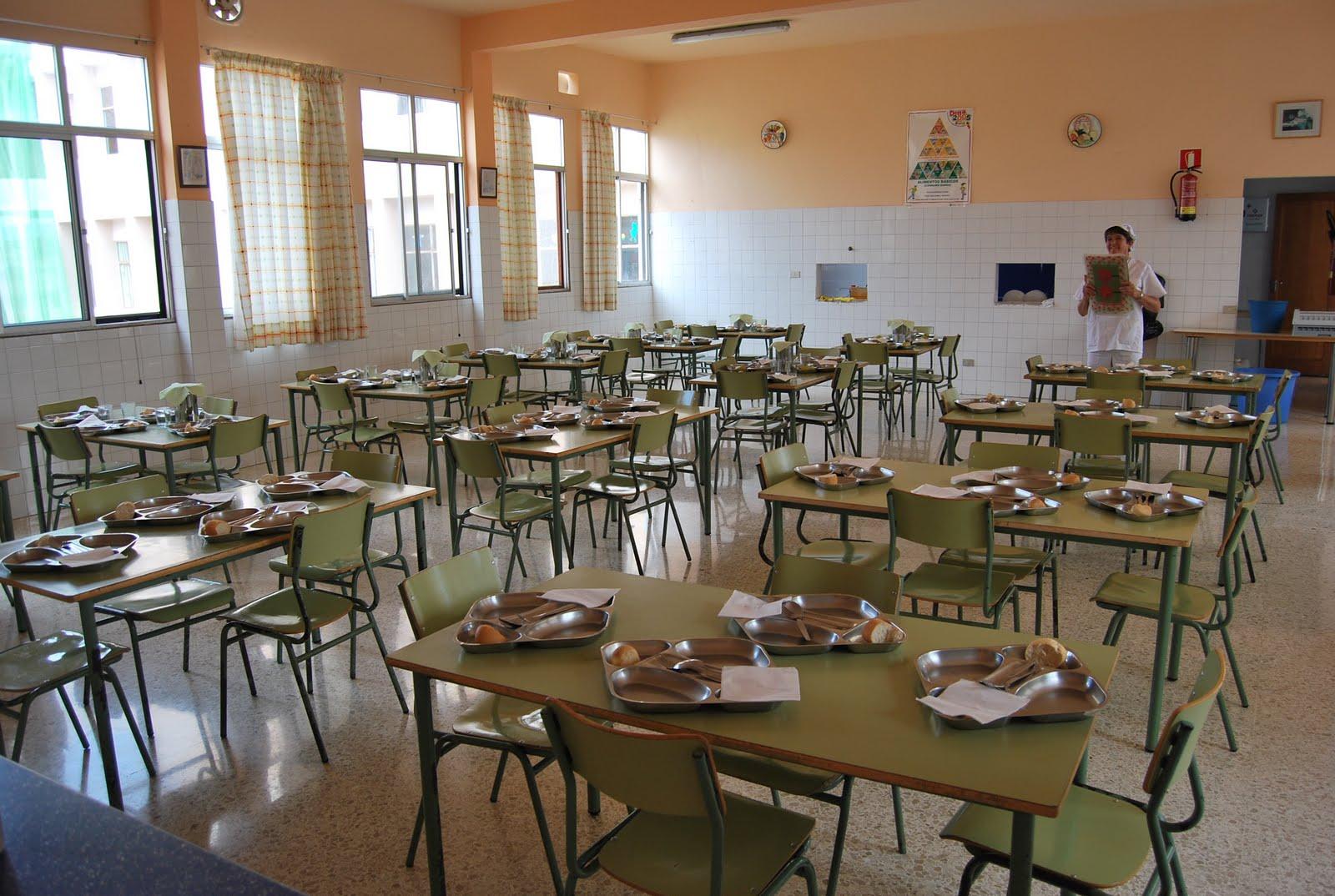 Ceip la goleta arucas el lunes 13 comienza el comedor for El comedor escolar