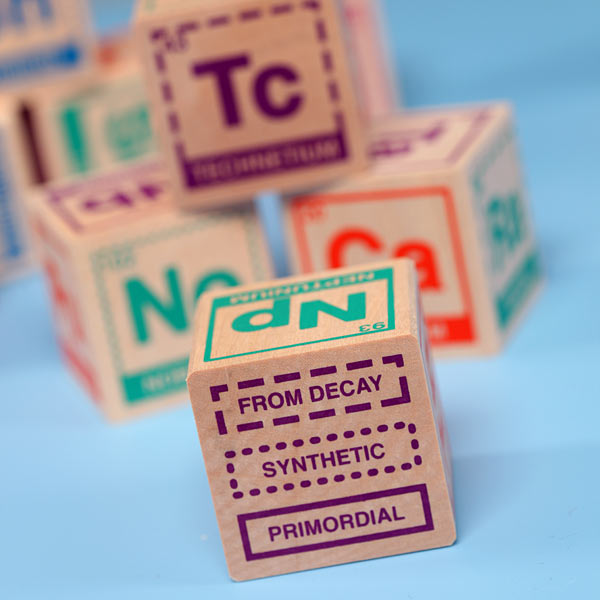 Randomnies periodic table building blocks for geek kids learn while you build urtaz Images