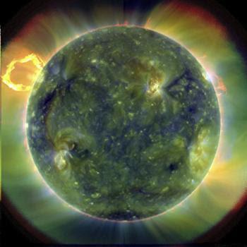 Sol em alta definição