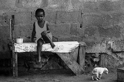 Santa Maria, Ilha do Sal, Cabo Verde, Setembro de 2005