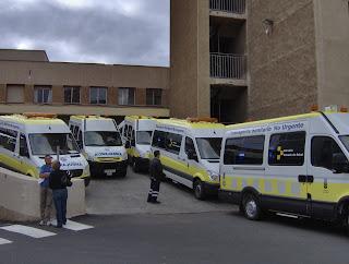 Ambulancieros nueva flota de veh culos de transporte - Transporte tenerife ...