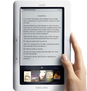Barnes and Noble Nook Ebook Reader