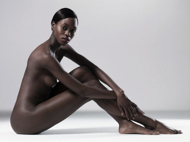 Nude African Woman. IMAGE: Adrianna Williams/CORBIS. A Comet Collection.