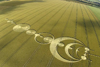 solar system crop circle