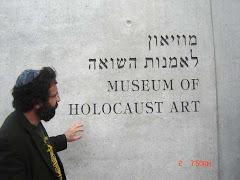 Nardella-Dellova in Museum Of Holocaust, Gerusalemme, nell'anno 2006