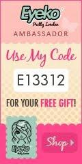 Mi código de Embajadora Eyeko