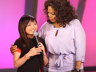 Charice and Oprah