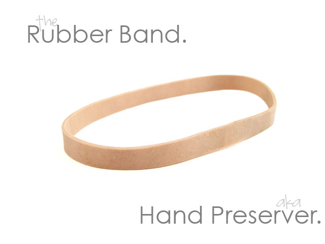 The Rubber Band.
