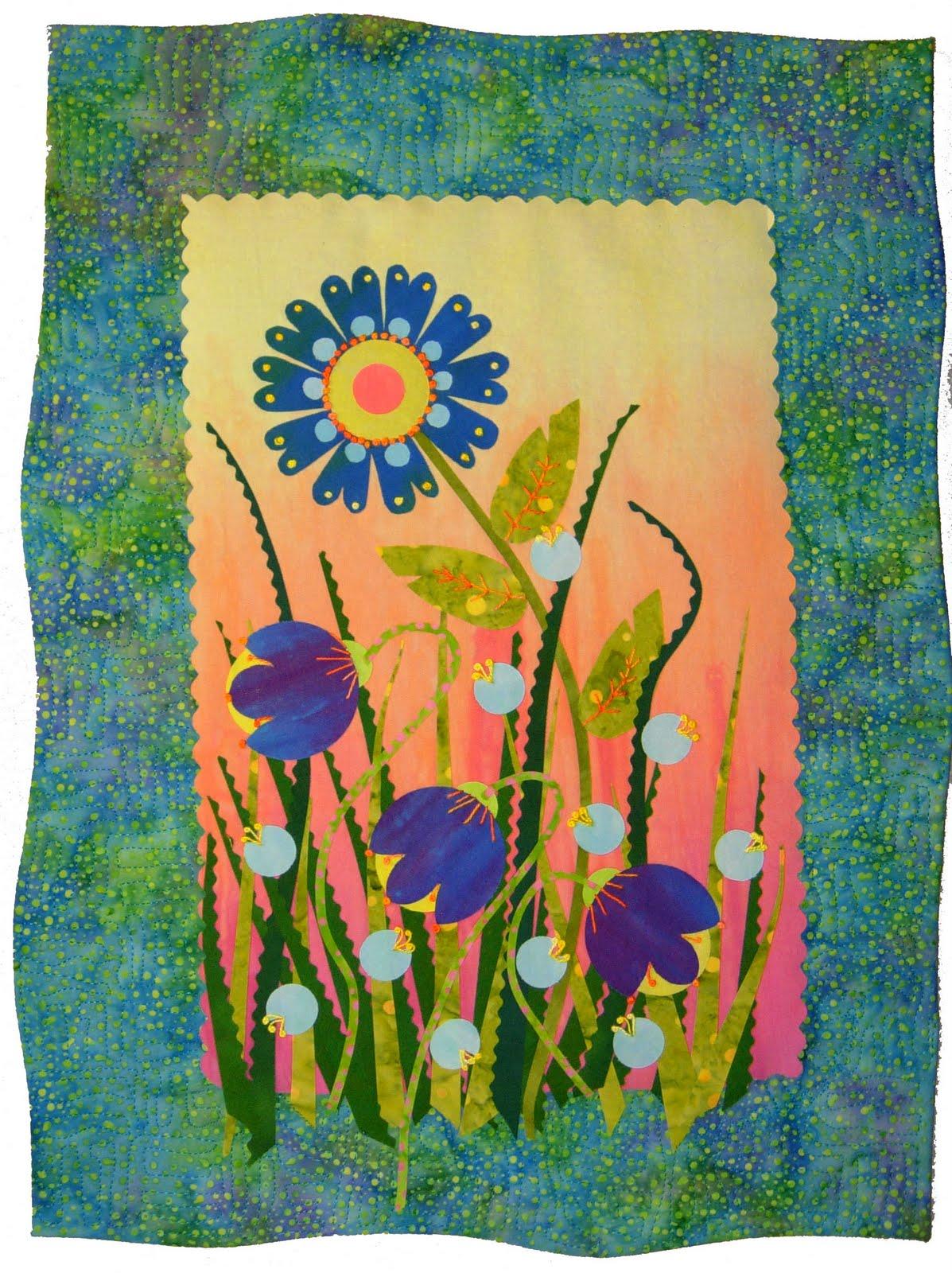 Garden Flowers, 14 x 18,