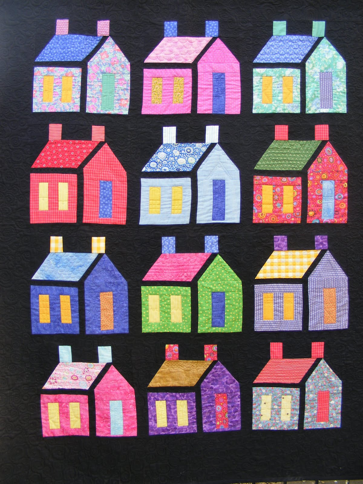 Quilt Inspiration  Our Town
