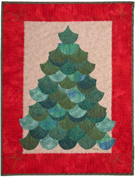 Quilt Inspiration 12 days of Christmas trees