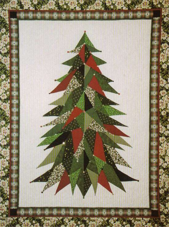 Free Quilt Patterns Christmas Tree : QUILTED CHRISTMAS TREE SKIRT PATTERNS - FREE PATTERNS